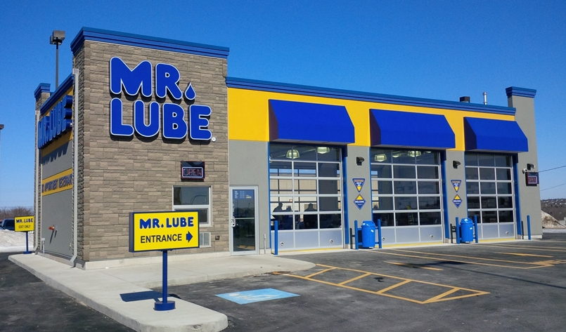Franchise mr lube for Franchise ad garage